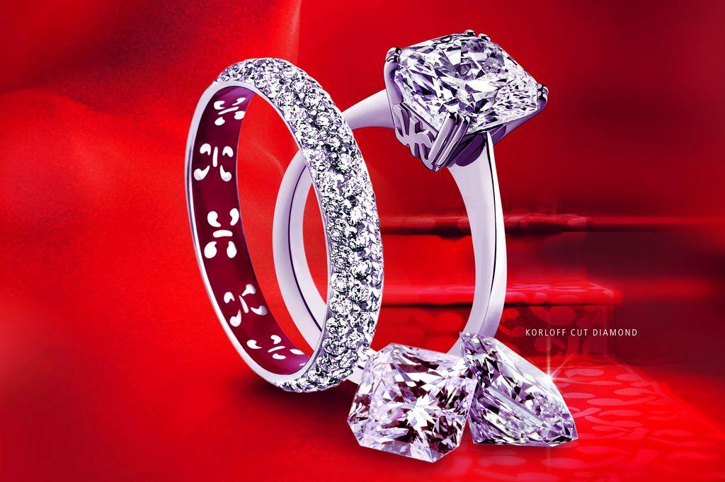 Buy korloff women gold ring (france)